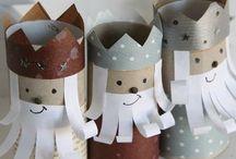 Navidades con niños / Manualidades, actividades y juegos navideños para los peques