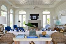 Calming Coastal / Beach and Coastal Homes / by Holly Phillips @ The English Room