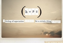 HOPE is a good thing....