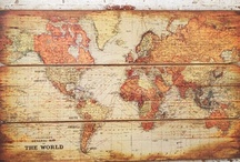 Maps & Globes - I love them.....