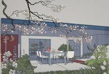Mid Century Modern Illustrations and House Plans / Mid-century modern house plans and illustrations. / by Mid Century Home .