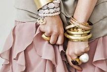 Stacked up jewellery / Beautiful jewellery for you  / by Caroline Shaw Fashion Styling