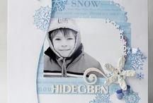 52/3 Téli scrapbook oldalak - Winter and scrapbook / Elmúlt az advent, túl vagyunk a Karácsonyon, a Szilveszteren. Elérkezett az idő, hogy más aktuális scrapbook téma után nézzünk. Ilyenkor körülvesz bennünket a zimankó, szívesen sétálunk a hóban, végre itt a hógolyózás, szánkózás, síelés, korizás ideje! Készítsünk ezekről a téli élményekről scrapbook oldalakat! Ebben a cikkben szeretnék néhány ötletet adni, miként állítsuk össze legújabb alkotásainkat. http://www.scrapbook.hu/2013/01/14/keszitsunk-teli-scrapbook-oldalakat