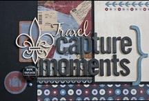 BoBunny Detour layouts / Mit használj utazásról szóló scrapbook alkotásaidhoz? A Bo Bunny Detour papírkészlet a válasz! Tökéletesen illik városlátogatásokról, külföldi utazásokról szóló scrapbook albumokhoz. Mintázata az úti iratokat, megsárgult térképeket, vízumbélyegzőket, útjelző-táblákat és repülőtéri ikonokat idézi, ugyanakkor mindezt markáns grafikus elemekkel vegyítve. Megvásárolható a Scrapbook Webáruházban:  http://www.webaruhaz.scrapbook.hu/200-detour