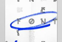 TYPOGRAPHY / A collection of beautiful typography pinned by graphic designers.