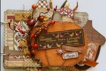 Authentique Thankful layouts / Scrapbook papírkészlet az ősz színeiben. A nosztalgikus színek, mintázatok egészen a gyermekkorig és meghitt családi összejövetelek emlékéig repítenek bennünket. http://www.webaruhaz.scrapbook.hu/211-thankful