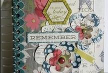 Theresa Collins - Now & Then layouts / Theresa Collins Now & Then papírkollekciójának már a neve is sugallja a hangulatát. Egykor és most - a gyermekkor, a vidéki élet motívumkészlete jelenik meg a megfakult színvilágú papírkészleten. Enyhén vintage hatású, nagyon elegáns, vastag, texturált papírokat tartalmazó scrapbook kollekció.  http://www.webaruhaz.scrapbook.hu/216-now-then