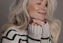 Cute hair styles over 50  / by Caroline Shaw Fashion Styling