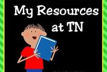 My Teachers Notebook Resources / Visit my TN shop and browse my collection of math and literacy resources for your primary grade classroom!