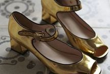 Metallics / by Caroline Shaw Fashion Styling