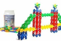Motor Skills Development - Fine & Gross / Toys and DIY items that promote fine and gross motor skills in kids