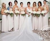 KELLY FAETANINI BRIDESMAIDS & INSPIRATION / Kelly's ultimate #squadgoals. This board is all about the lucky lady (and we don't mean the bride). Besides, where would our brides be without their super stylish gal pals? Share your real Kelly Faetanini bridesmaids pics so we can *swoon* over the most important ladies in your life!