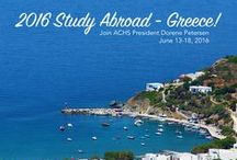 Greece Study Abroad / Explore Aromatherapy, Herbal Medicine, and Complementary Approaches to Wellness in Syros, Greece - June 13-18, 2016.   Join Aromatherapy, Herbal Medicine and Wellness Expert Dorene Petersen, also the President and Founder of American College of Healthcare Sciences, for a 5-night, 6-day study abroad experience for your mind, body, and soul.