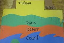 First Grade Social Studies / Here's where to find classroom ideas for geography, history, and more for your first grade social studies teaching!
