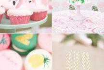 Party Ideas / Inspirações para festas de aniversário bem lindas and fofinhas que você vai amar tanto quanto eu <3