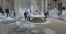 """Caesarstone & Snarkitecture / Caesarstone announces its collaboration with New York-based collaborative practice Snarkitecture for their 2018 Designer Programme.  """"Altered States"""" revealed at IDS Toronto 2018 and transformed in Milan Design Week. http://milan2018.caesarstone.com #csmilan2018"""