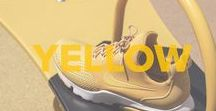 Footshop | Yellow / Every shade of Yellow, every type of sneakers, apparel or accesories that you can imagine. Daily refreshed selection from our website in one color tone. #yellow #sneakers