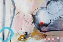 AbstractArt / A collection of inspirational #abstract #art pieces full of #artsy.