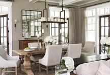 Home Inspiration:::Dining Room / by Deanna Agnos