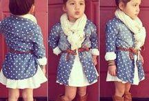 Kiddie fashion / by Stephanie Maxwell