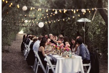There's Goodness in the Garden / Do it outdoors! Get married, that is.  / by Jeff Cooper Designs