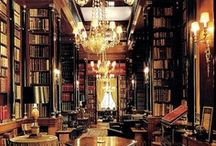 """Libraries / """"I have always imagined that paradise will be a kind of library""""  Jorge L. Borges / by agripina"""