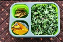 Lunch and bento box / Kiddo and grown up friendly lunchtime totables, bento boxes and portable good eats.  Mostly #vegan, #vegetarian - all yummy.