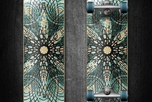 Awesome Skateboard Designs / Even though I don't skate I do appreciate cool designs.