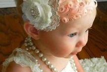 kleine meisjes haarbanden / spelden