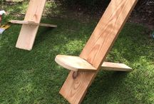 Chairs / Cuz I likes to sit and build sitters.  / by Jeff Hardegree