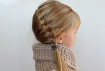 Hair styles for girls / by Stephanie Maxwell