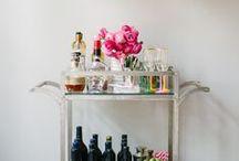 Home Decor: Bar Cart