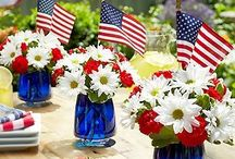 JULY 4th: decor / by April Martin