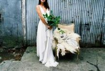 bridal gowns. / Dresses, dresses and more dresses. Or separates if that's your thing.