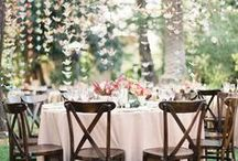 reception décor. / It's all about ambiance when it comes to reception décor.