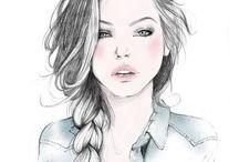 Paintings & Drawings  / by Cameron Dobbs💕