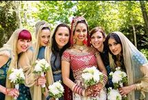 bridesmaid style. / Everyone loves dressing up for a wedding. Your bridal party (could be just one, could be 10) ought to look and feel their best too.