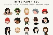 Rifle+Paper+Co. / I am in love with everything that comes from Rifle paper company! The vintage look is breathtaking.