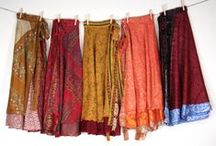 Sari Wrap Skirts / Sari Wrap Skirts and Ways to Tie them / by Darn Good Yarn