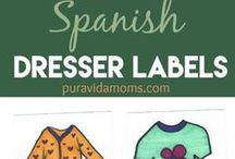 Spanish Resources / Tips and resources for learning Spanish- printables, worksheets, activities, vocabulary, grammar, verb conjugations, reading and more.