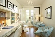 Home Office Help & Decor / Solutions and organization for a home office. Decor ideas and inspiration.