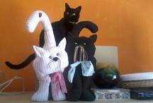 i miei corsi di manualità / Tegole decorate, cucito creativo, Dècoupage , craft, creatività, mosaico, feltro, manualità creativa.