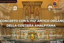 Il più antico organo della Costiera amalfitana / Tra le #invasionidigitali in programma in Costiera amalfitana c'è anche  un concerto con l'organo più antico della Campania (anno 1729) che si trova a Tramonti, frazione Campinola.  Evento in programma per il 21 aprile, ore 12