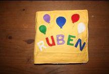Rubens Busy Book / Gemaakt voor mijn zoontje ter ere van zijn tweede verjaardag.