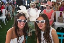 Racey Hair / Spring Carnival?  A great occasion?  Here's some new ideas for how to manage your look. #MelbourneCup