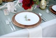 Design and Dine Giveaway / During the month of December we are giving away table decor designed by various designers that we love. Find out how you could win holiday table settings on www.InteriorCollective.com / by Caesarstone US