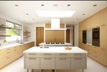 Caesarstone Colors: Blizzard / Design projects using Caesarstone quartz surfaces in Blizzard #2141. See more of our colors and order samples on Caesarstoneus.com.  / by Caesarstone US