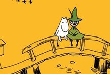 Moominland / All things Moomin. Especially Snufkin.
