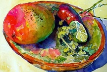 Watercolors by Nancy Standlee / Watercolors on professional grade watercolor paper, some with pen and ink, and unframed unless stated.  / by Nancy Standlee