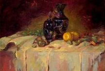 Still life paintings by Dave Froude
